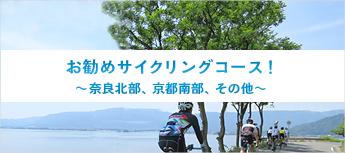 お勧めサイクリングコース!奈良北部、京都南部、その他
