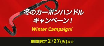 冬のカーボンハンドルキャンペーン!