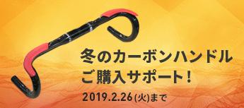冬のカーボンハンドルご購入サポート!